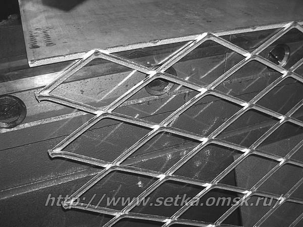Фото Производство просечно-вытяжной сетки