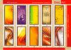 >> Декоративные панели из стекла, оргстекла, МДФ, серия `Абстракция`