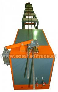 Машина СМЖ электротермического удлинения арматурных стержней