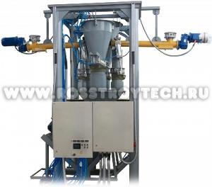 Мини бетонный завод (узел) производительностью от 10м3 в час