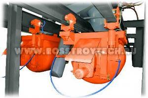 Линии адресной подачи (доставки) бетона (цемента, смеси) / кюбели