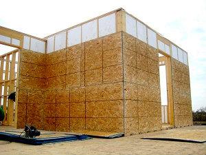 Производство для строительных компаний комплекта каркаса домов