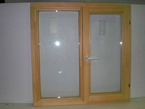 Деревянное окно 1200х1200=5400