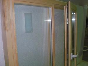 Деревянный стеклопакет 970х970=4300