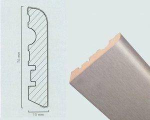 Алюминиевый плинтус Neuhofer ED.75L