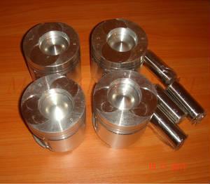 Поршень с кольцами (129907-22090) для двигателя Yanmar 4TNV98