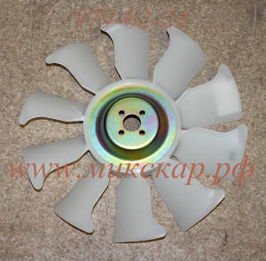 Вентилятор для погрузчика Mitsubishi, двигатель Mitsubishi S4S