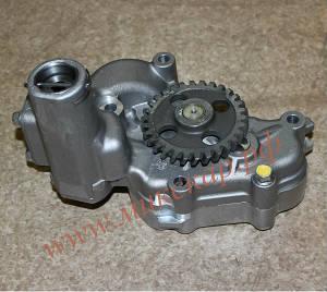 Масляный насос к экскаватору Hitachi, двигатель Isuzu 6WG1