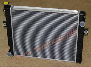 Радиатор двигателя погрузчика Komatsu FD35AT16