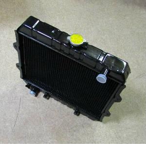 Радиатор двигателя для вилочного погрузчика Mitsubishi FG25, 912021790