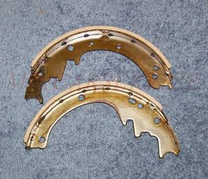 Тормозные колодки на погрузчик Nissan FG15NT