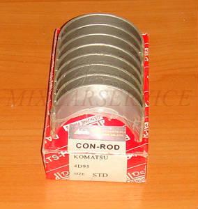 Вкладыши коренные Komatsu 4D95S