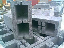 Блоки мелкоштучные шлакобетонные (40х20х20)