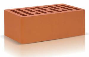 Кирпич облицовочный керамический красный полуторный