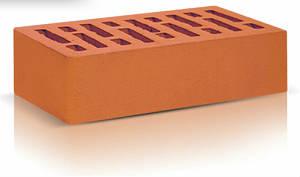 Кирпич облицовочный керамический красный одинарный