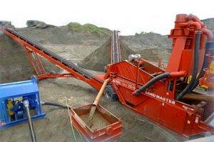Мойка песка Terex Finlay ТС-15
