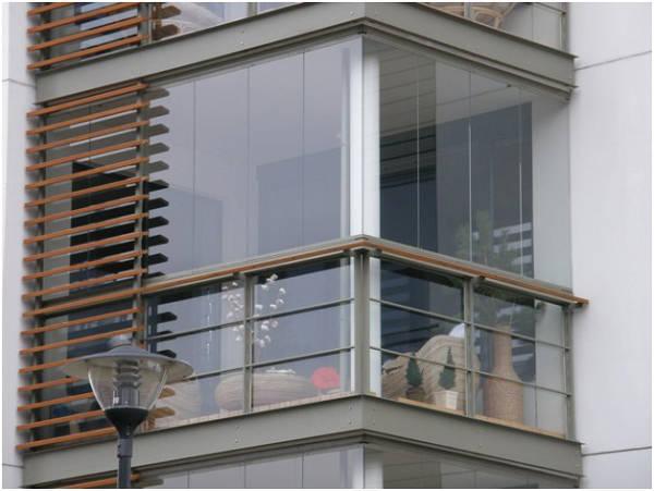 Фото Безрамное остекление балконов и лоджий!