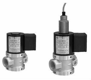 Клапан электромагнитный двухпозиционный ВН для жидких сред