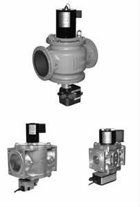 Клапан электромагнитный двухпозиционный ВН с регулятором расхода