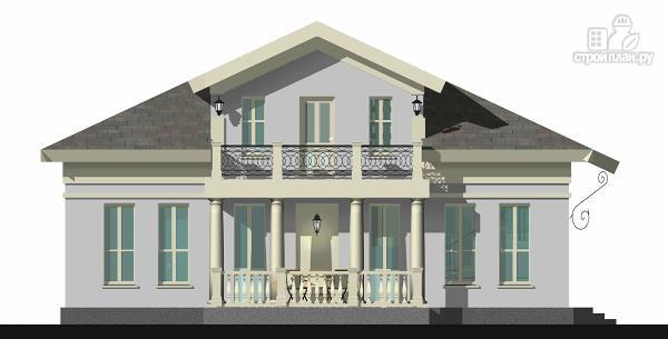 Фото 4: проект романтический дом с мезонином