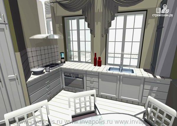 Фото 6: проект очень компактный комфортный дом с четырьмя спальнями