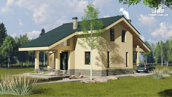 Фото 4: проект просто красивый удобный компактный дом
