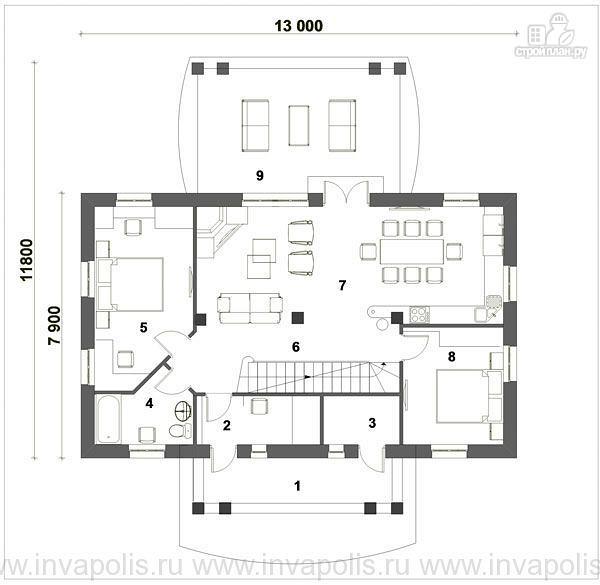 Фото 2: проект уютный дом в английском стиле