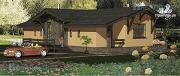 Фото: одноэтажный удобный стильный дом