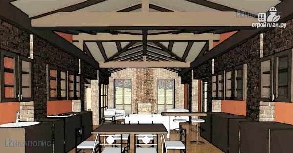 Фото 5: проект одноэтажный удобный стильный дом