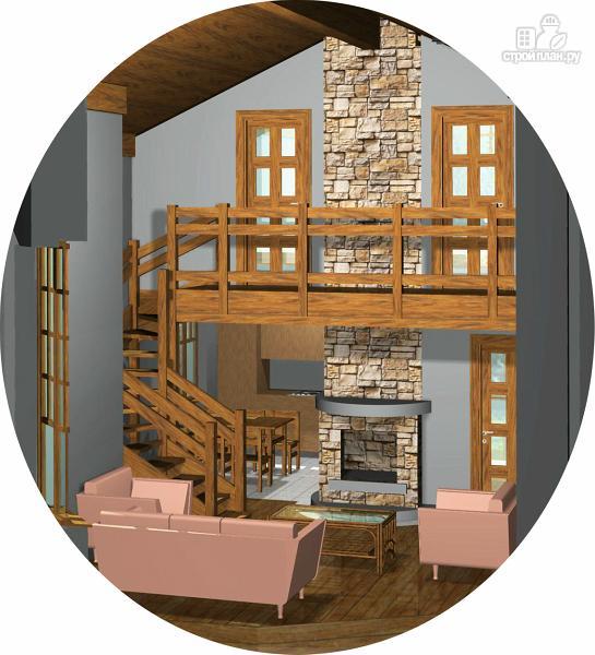 Фото 2: проект дом с тремя спальнями, эркером и вторым светом