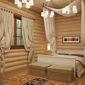Фото 3: Красивый интерьер деревянного дома - 1
