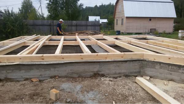 Фото Начало строительства. Первый ряд
