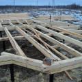 Фото 4: Свайно-винтовой фундамент для монтажа дома