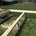 Фото 4: Начало строительства... Закладные венцы, первый ряд