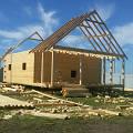 "Фото 2: Монтаж крыши на дом по проекту ""Суздаль"""