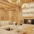 Фото 4: Интерьер деревянного дома