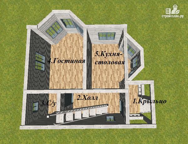 Фото 6: проект дом с эркерами
