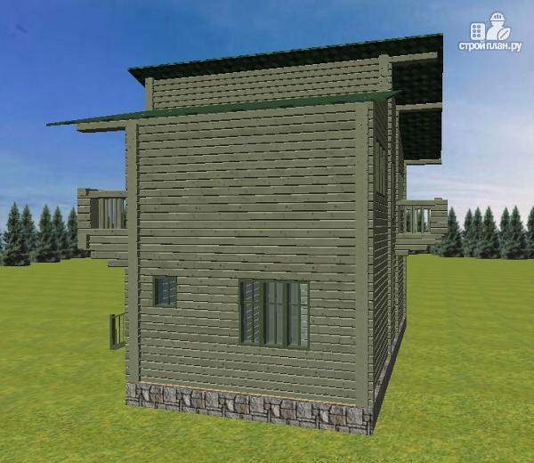 Фото 5: проект дом с балконом