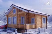 Проект дом из бруса