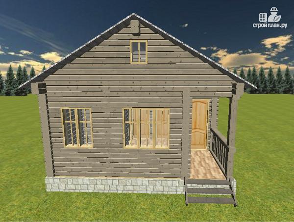 Фото 3: проект дом из бруса