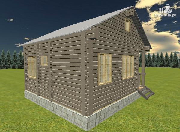 Фото 4: проект дом из бруса