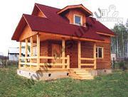 Фото: дом с большой террасой