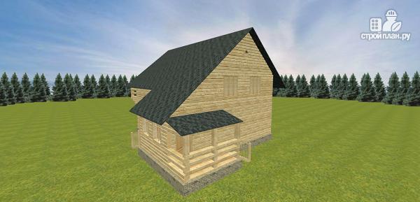 Фото 8: проект дом со вторым светом