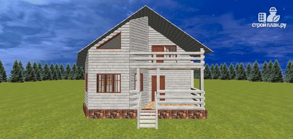 Фото 2: проект дом со вторым светом