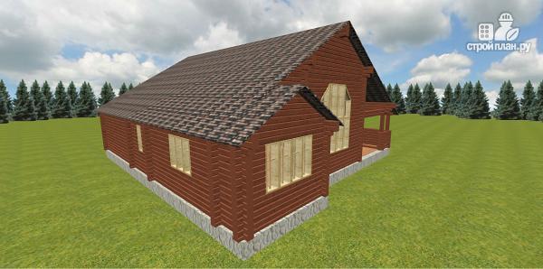 Фото 3: проект дом со вторым светом