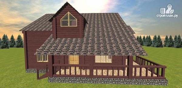 Фото 3: проект респектабельный дом со вторым светом