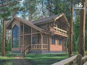 Фото: дом с эркерной гостиной и вторым светом