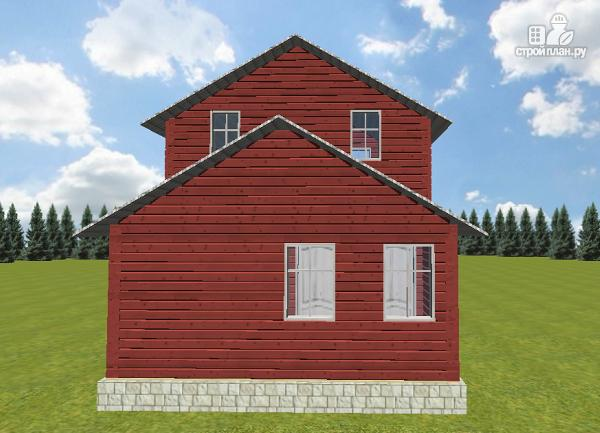 Фото 4: проект гостевой домик-баня 6х8 из бруса