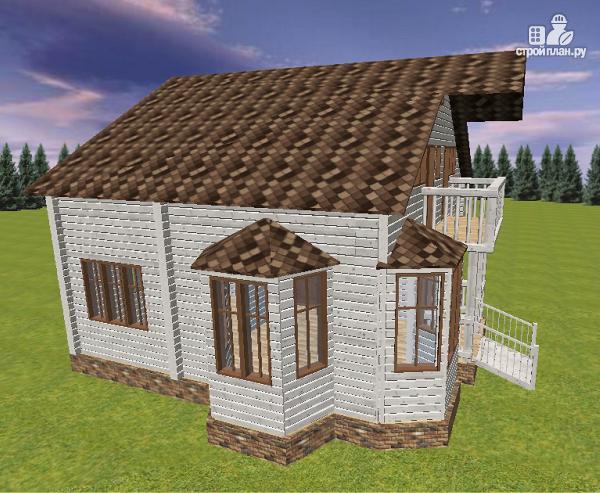 Фото 5: проект дом из бруса 9х8