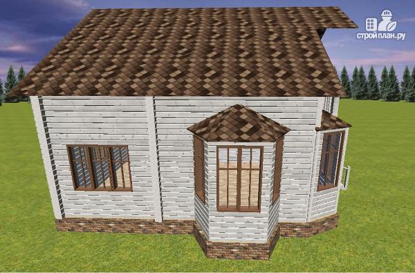 Фото 6: проект дом из бруса 9х8